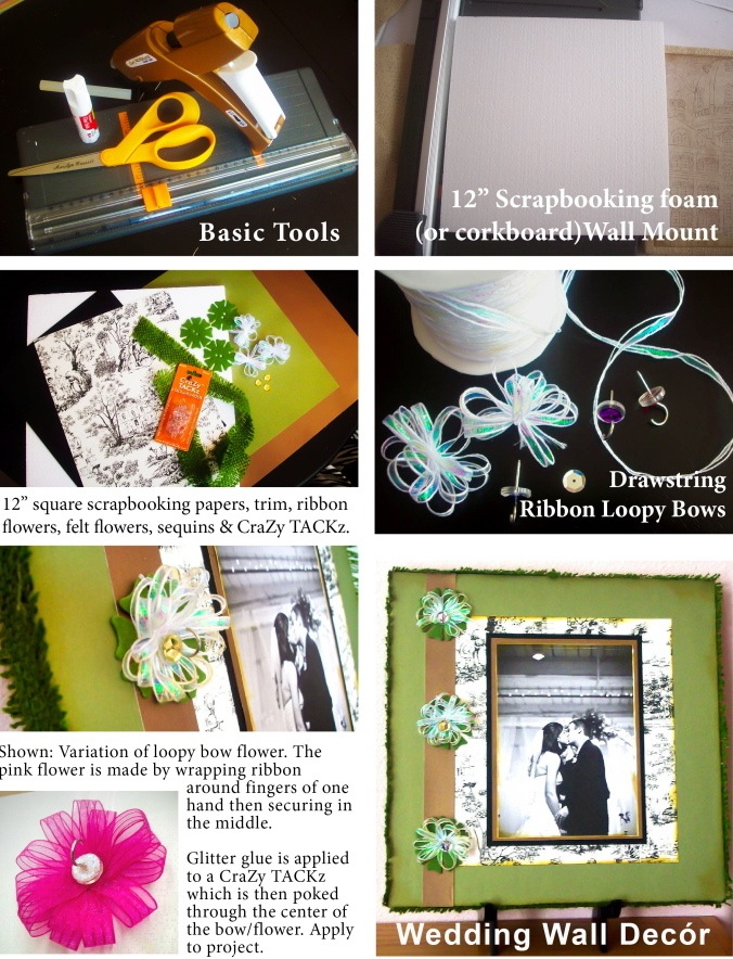 Wedding Wall Décor Project Sheet